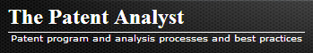 View The Patent Analyst blog