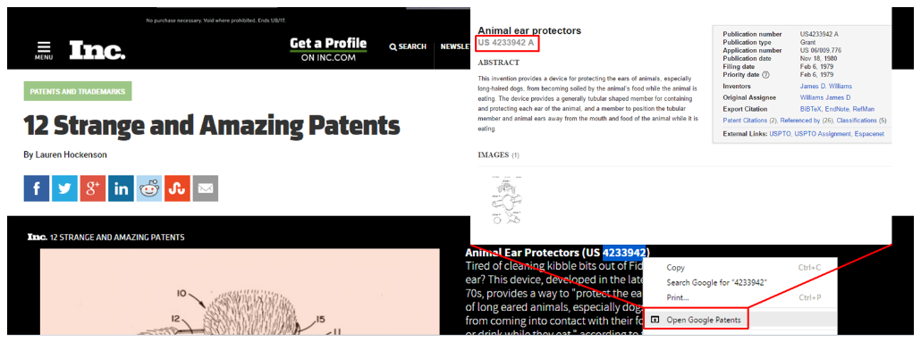Open Google Patents